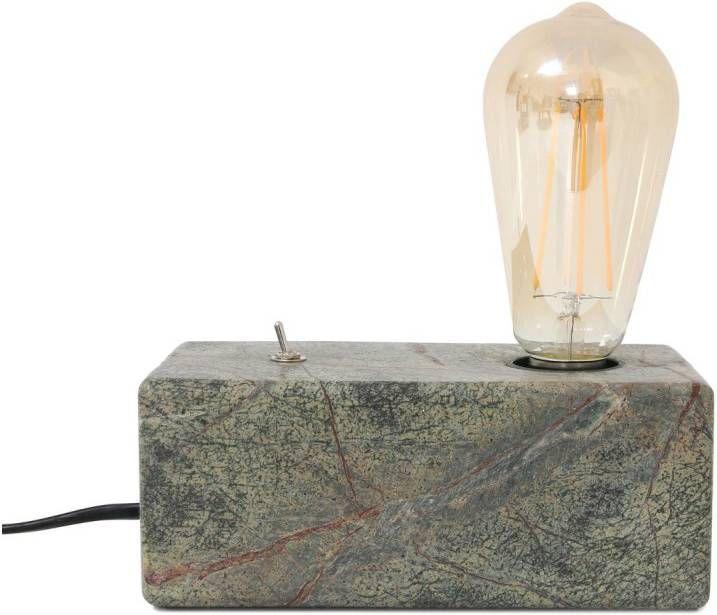HKliving Forest Marble Brick Tafellamp