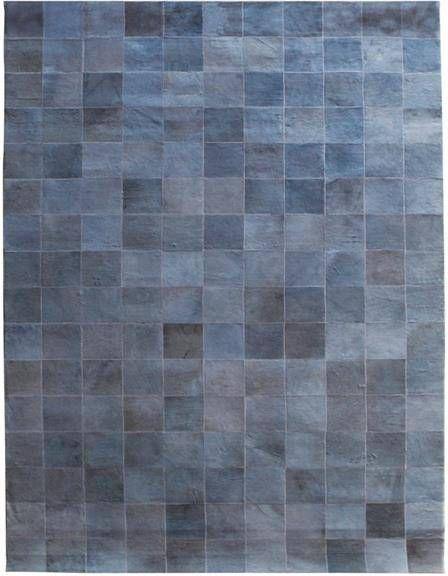 Vloerkleed Patchwork Leather - - Leder - 160x230 cm - By - Boo online kopen