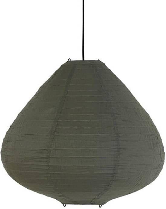 HKliving hanglamp lampion groen 65cm